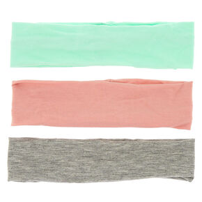 Summer Pastel Headwraps - 3 Pack,