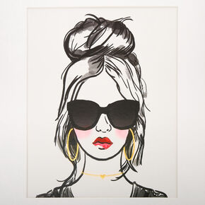 Fashionista Wall Art,