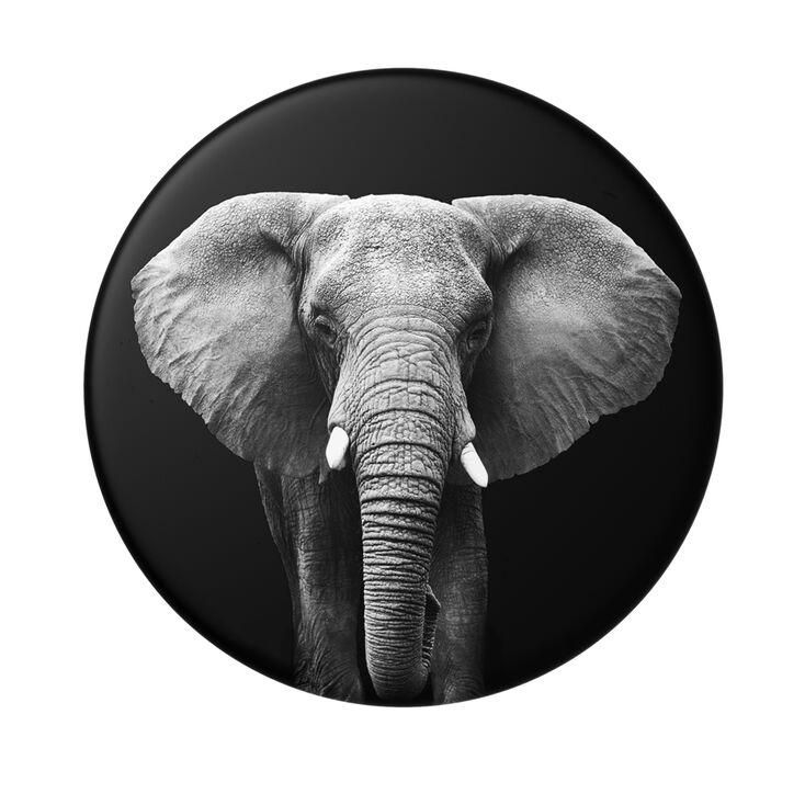 PopSockets Swappable PopGrip - Elephant,