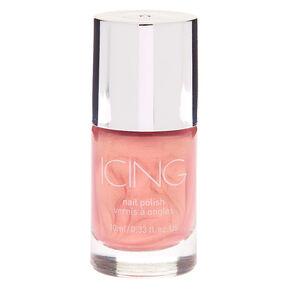 Iridescent Nail Polish - Rose Gold Pink,