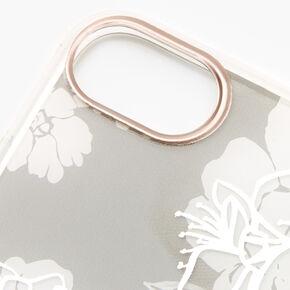 Quartz Floral Phone Case - Fits iPhone 6/7/8/SE,