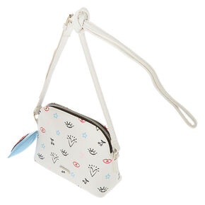 Icon Crossbody Bag - White,