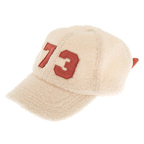 Sherpa Varsity Baseball Cap - Ivory,