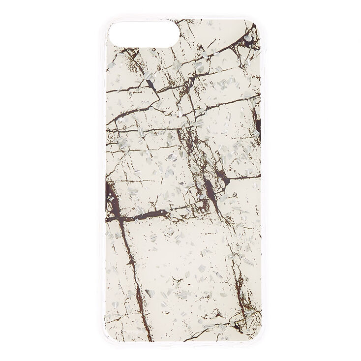 Marble Sparkle Phone Case - Fits iPhone 6/7/8 Plus,