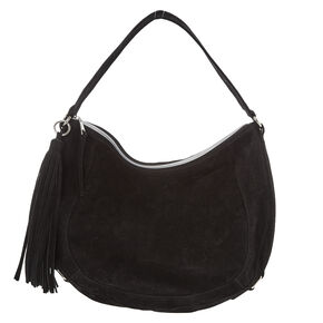 Black Hobo Messenger Bag,