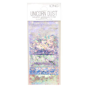 Pastel Unicorn Dust Body Glitter - 4 Pack,