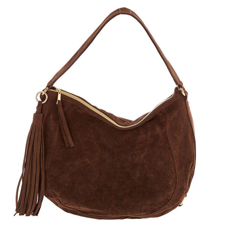 Brown Hobo Messenger Bag,