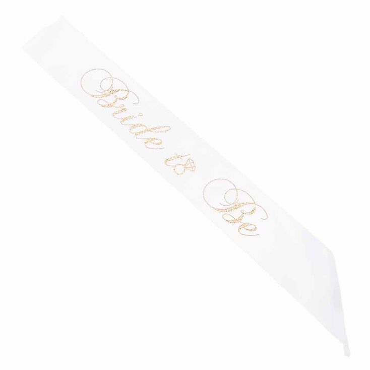 Bride To Be Sash,