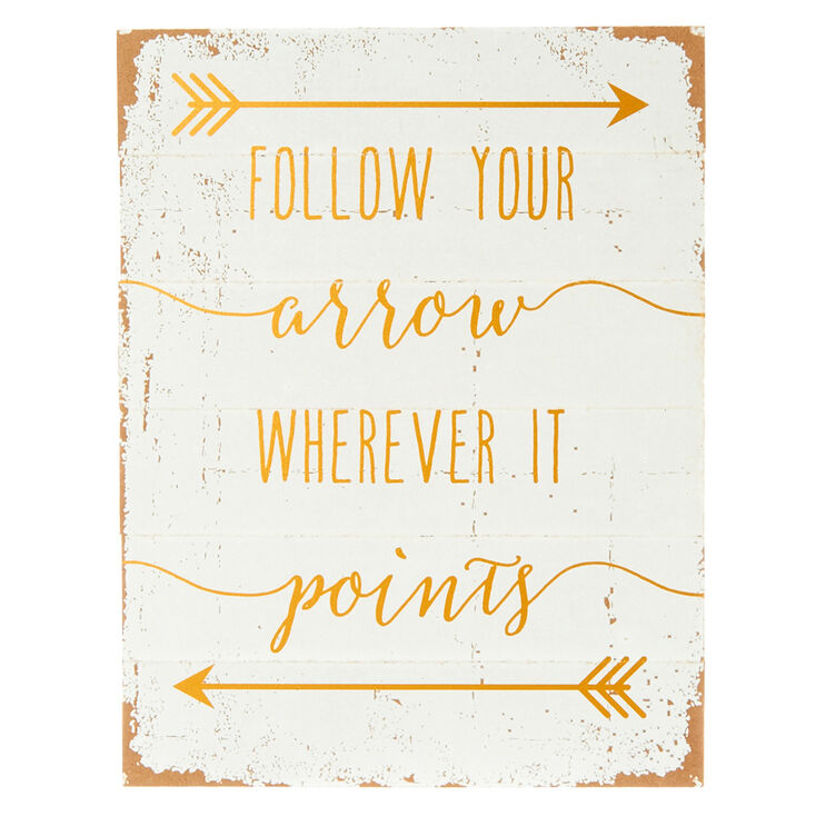 Follow Your Arrow Wall Art,