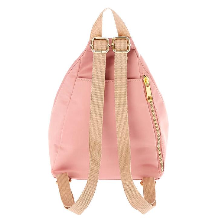 Satin Cheer Girl Backpack - Pink,