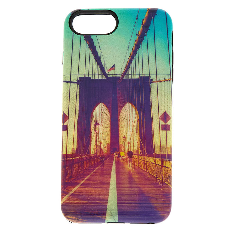 Brooklyn Bridge Protective Phone Case  - Fits iPhone 6/7/8 Plus,