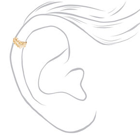Gold Leaf Ear Cuff,