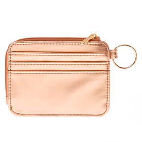 Desert Rose Coin Purse - Rose Gold,