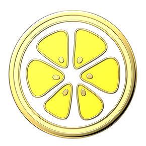 PopSockets PopGrip - Enamel Lemon,
