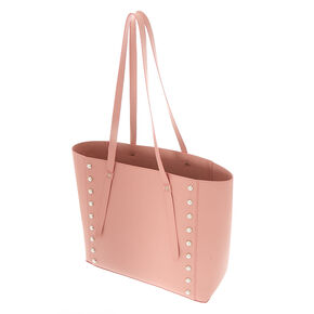 Large Pearl Tote Bag - Blush,