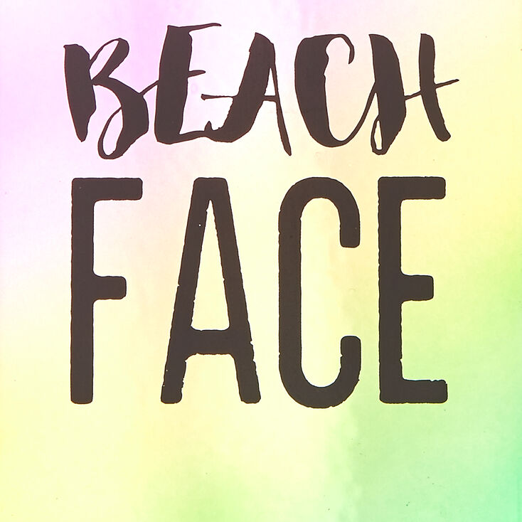 Beach Face Phone Case - Fits iPhone 6/6S Plus,