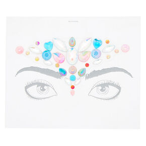 Rainbow Forehead Bling Face Sticker,