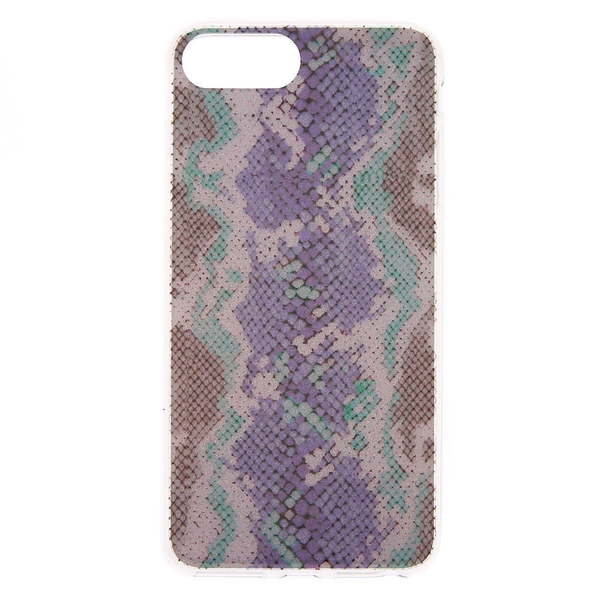 low priced feaba 5f64b Glitter Snake Skin Phone Case - Fits iPhone 6/7/8 Plus
