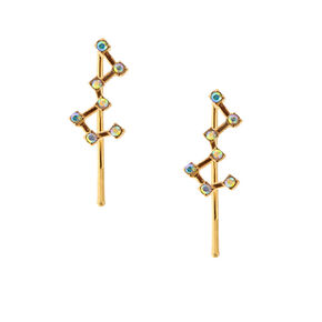 Gold Tone Constellation Ear Crawler,