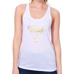 Bride Tank Top - White,