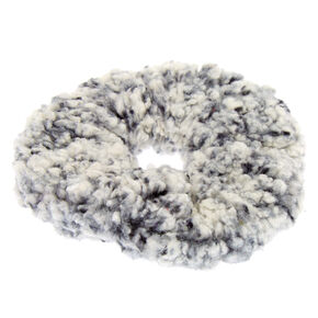 Teddy Hair Scrunchie - Black,
