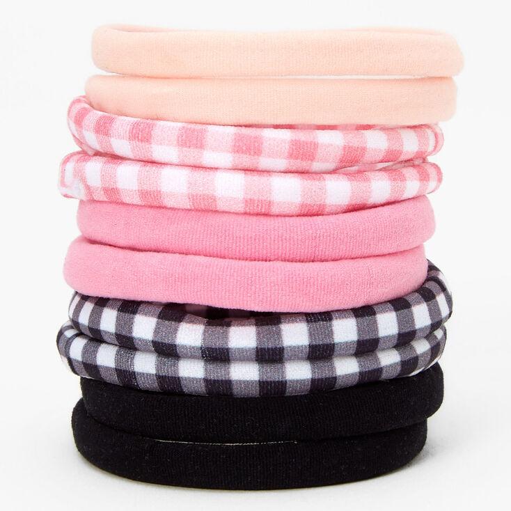 Pink Metallic Sheen Studded Clutch Bag,