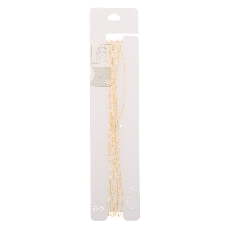 2-In-1 Gold Branch Belt & Headwrap,