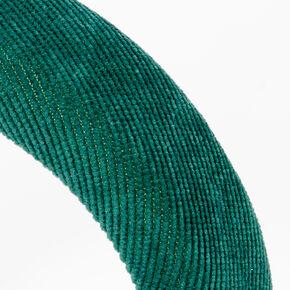 Cord Puff Headband - Green,