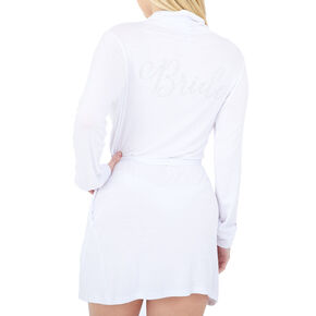 Jersey Bride Robe - White,