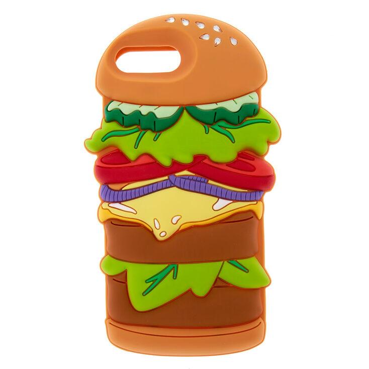 Silicone Hamburger Phone Case,