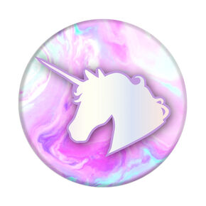 Marble Unicorn PopSocket,
