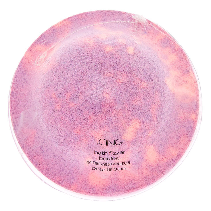 Planet Shaped Scented Bath Bomb - Pink,