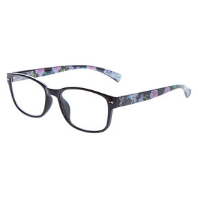Rectangle Floral Frames - Black,