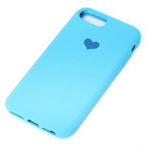 Cobalt Heart Phone Case - Fits iPhone 6/7/8/SE,