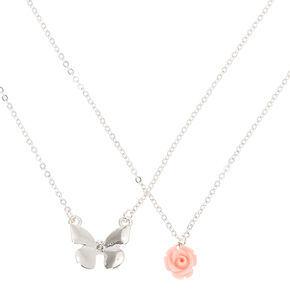 Silver Spring Pendant Necklaces - 2 Pack,