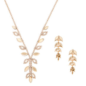 Gold Enchanted Vine Jewelry Set - 2 Pack,