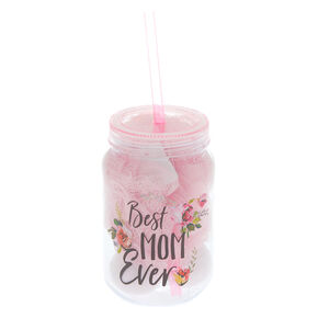 Best Mom Ever Bath Bomb Tumbler Set - Pink,