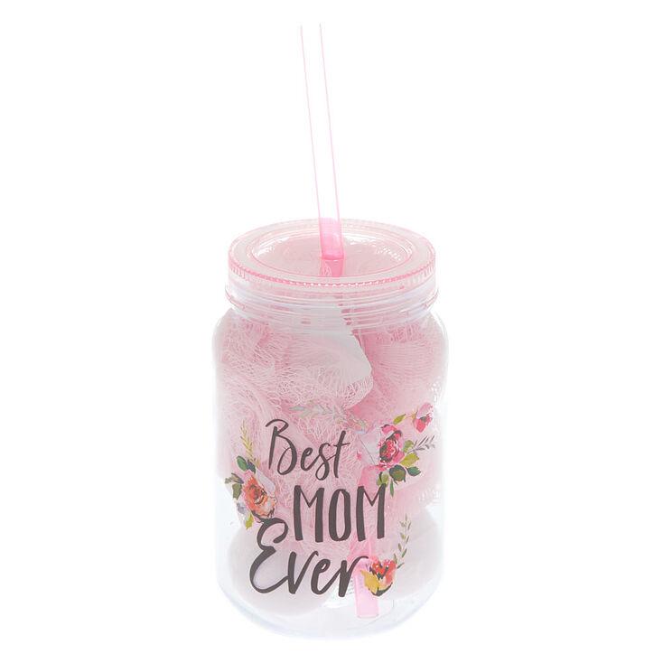Best Mom Ever Bath Bomb Tumbler Set - Pink,