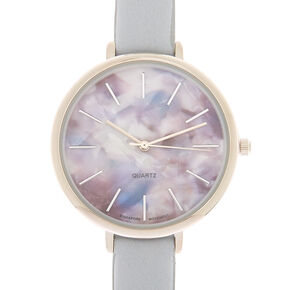 Marble Classic Watch - Gray,