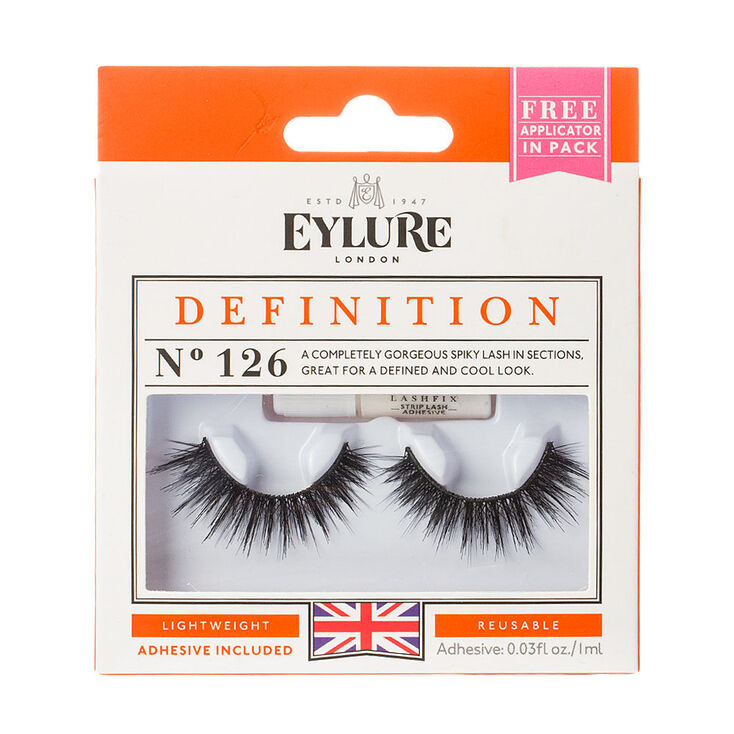1960s Makeup & Beauty Products Icing Eylure Definition No.126 False Lashes $9.99 AT vintagedancer.com