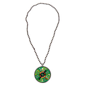 St. Patrick's Day Drink Spinner Necklace,
