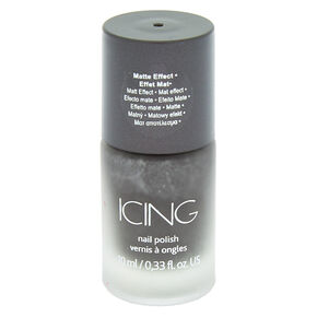 Cosmic Matte Gray Nail Polish,