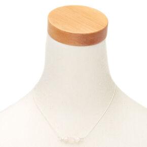 Rose Quartz Compassion Pendant Necklace,