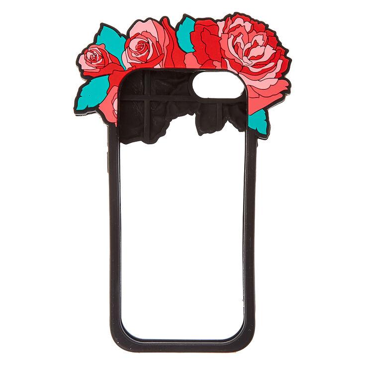 Red Rose Flower Crown Bumper Phone Case,