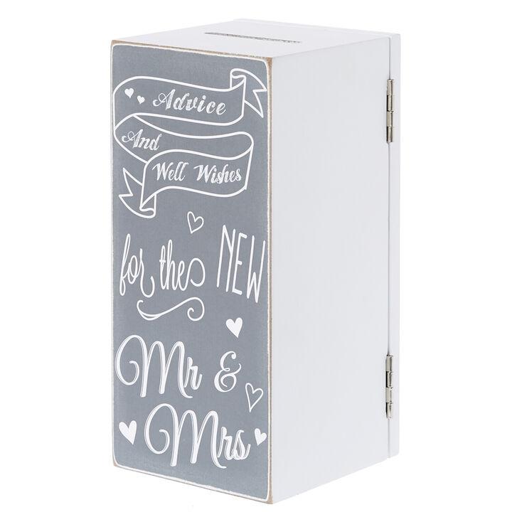 Rustic Well Wishes Wedding Box,