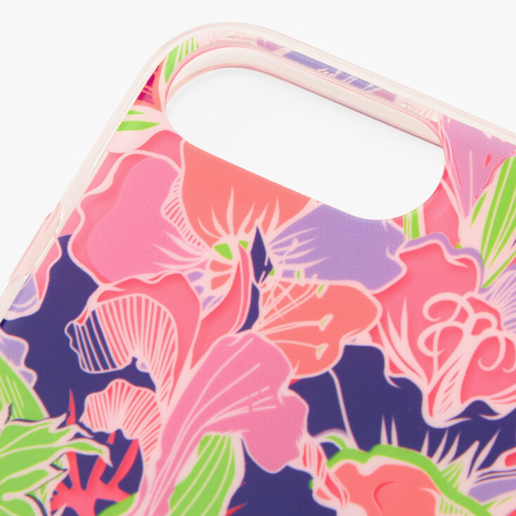 Neon Lily Phone Case - Fits iPhone 6/7/8/SE,