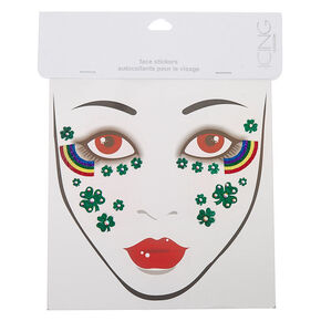St.Patrick's Day Face Tattoos - Green,