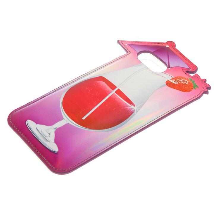 Puffy Strawberry Daiquiri Phone Case - Fits iPhone 6/7/8 Plus,