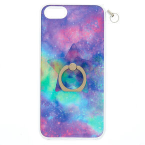 Galaxy Ring Stand Phone Case with Lanyard,
