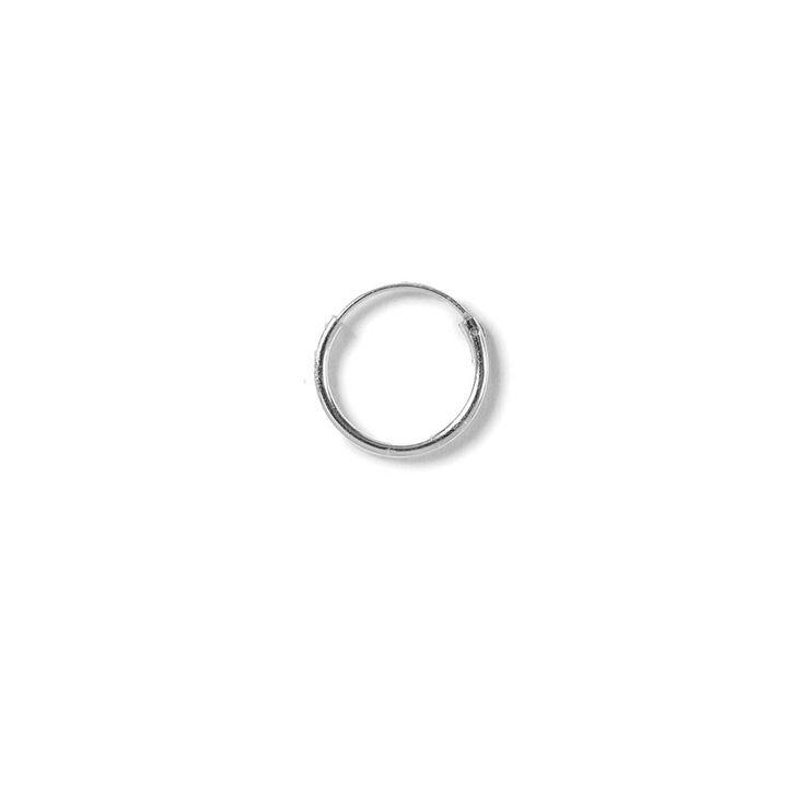 Sterling Silver Small Hoop Earring,